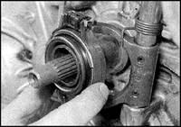 8.6 Механизм выключения сцепления Nissan Sunny