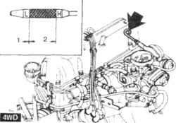 2.3 Порядок выполнения регулировок -общие замечания Nissan Terrano II