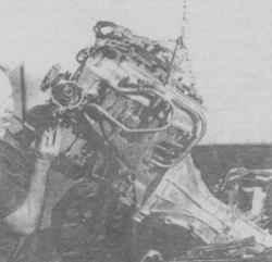 5.4 Двигатель - снятие и установка