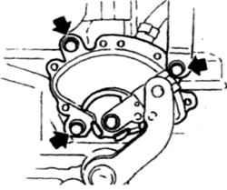 11.3 Тяга управления трансмиссией - регулировка Nissan Terrano II