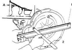11.8 Автоматическая трансмиссия - снятие и установка Nissan Terrano II