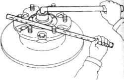 13.7 Сальники ступицы – снятие и установка, регулировка подшипников