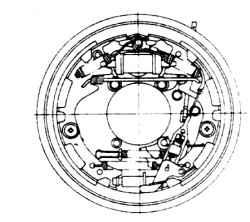14.7 Колесный цилиндр задних барабанных тормозов - снятие, разборка и установка