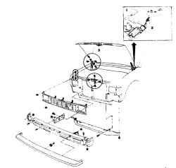 16.5 Передняя решетка -снятие и установка