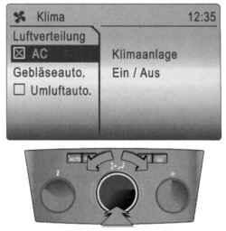 Режим включения и выключения компрессора кондиционера