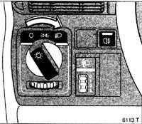 1.6 Переключатели освещения, указатели поворотов
