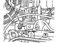 6.20 Нижняя часть впускного коллектора (модели Multec-S)