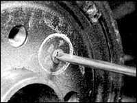 10.11 Тормозной барабан задних тормозов
