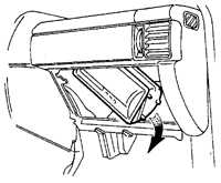 13.43 Модуль воздушной подушки безопасности пассажира