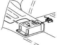 13.45 Электронный блок управления воздушной подушки безопасности