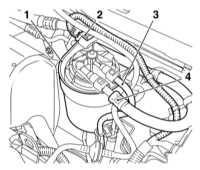 3.21 Замена топливного фильтра — дизельные модели выпуска по 09.2000 Opel Astra