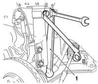 10.3.2 Снятие и установка приводных валов Opel Astra