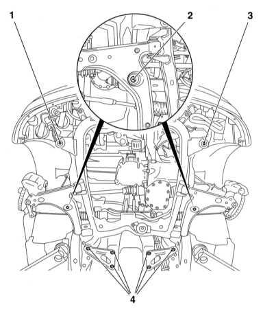 12.4 Снятие и установка переднего подрамника
