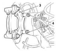 11.11 Снятие, восстановительный ремонт и установка суппортов дисковых   тормозных механизмов задних колес