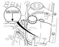 3.4 Проверка уровней жидкостей Opel Astra