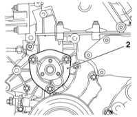 5.3.8 Снятие и установка водяного насоса Opel Astra