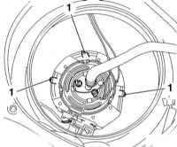 6.1.8 Снятие и установка топливного насоса - бензиновые модели Opel Astra