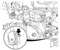 8.3 Снятие и установка механизма переключения передач