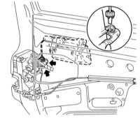 13.18 Снятие и установка наружной ручки двери Opel Astra