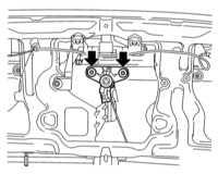 13.29 Снятие и установка компонентов двери задка Opel Astra