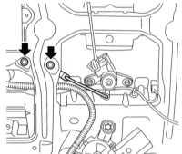 13.30 Снятие и установка компонентов единого замка Opel Astra