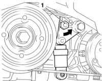 3.7 Проверка состояния и замена ремня привода вспомогательных агрегатов Opel Astra