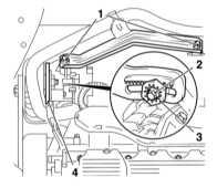 7.4.5 Снятие и установка генератора Opel Astra
