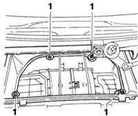5.4.5 Снятие и установка вентилятора отопителя