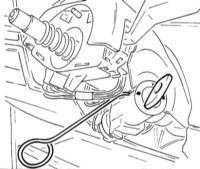 14.27 Снятие и установка цилиндра замка зажигания и его контактного элемента