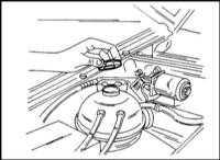 2.24 Заправка охладителя системы охлаждения Opel Frontera