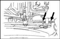 2.10 Проверка состояния, регулировка натяжения и замена приводного ремня (только для двигателей с регулировкой натяжения) Opel Frontera