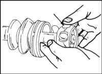 9.1.4 Снятие и установка приводных валов передних колес Opel Frontera