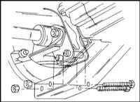 9.2.5 Снятие и установка заднего карданного вала