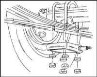 11.2.3 Задняя подвеска на листовых рессорах Opel Frontera
