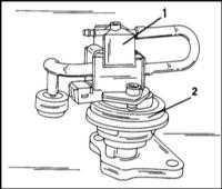 5.2.4 Система рециркуляции отработавших газов Opel Frontera