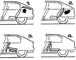 1.12 Увеличение багажного отделения на автомобилях Хэтчбек