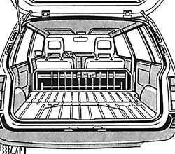 1.13 Увеличение багажного отделения на автомобилях Универсал