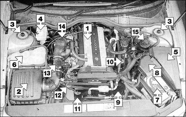 Выхлопная система ланос 1.5 схема фото 842
