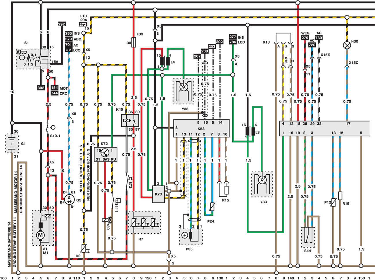 Схема подключения дхо на опель астре