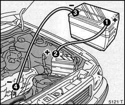 6.5 Подключение вспомогательного аккумулятора