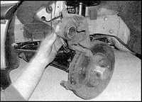 11.2 Тормозные накладки передних тормозов Opel Omega