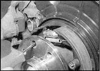 11.7 Тормозные колодки ручного тормоза Opel Omega