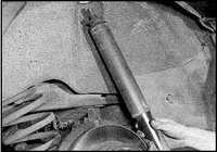 12.11 Амортизатор задней подвески Opel Omega