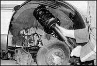 12.2 Стойка передней подвески Opel Omega
