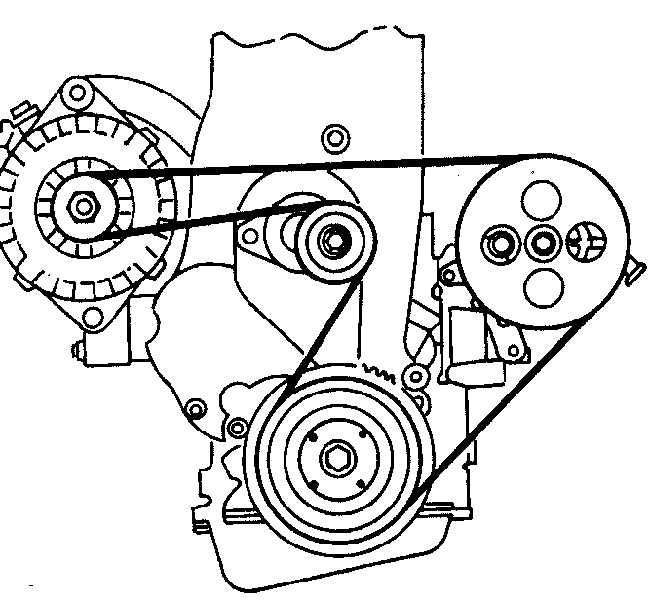 как поменять ремень генератора на опель омега