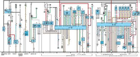 19.64.2 Электрическая схема моделей с 1989 года