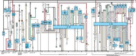 19.64.4 Электрическая схема моделей с 1991 года