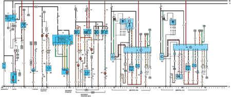 19.64.6 Электрическая схема моделей с 1992 года