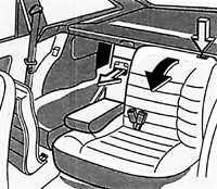 1.14 Элементы кузова Opel Vectra A