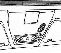 1.17 Окна, люк Opel Vectra A